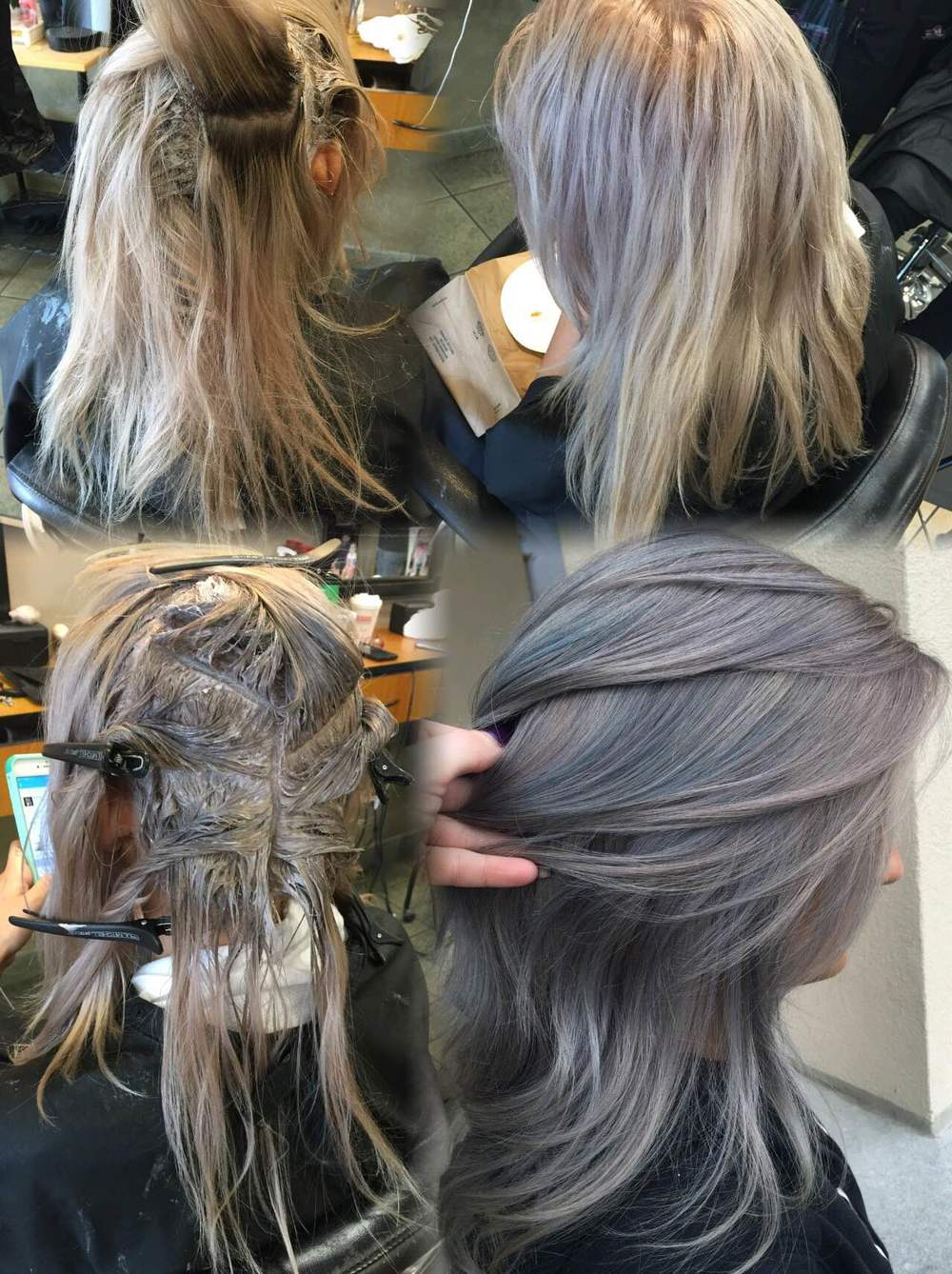 Kenra Silver Metallic Hair Color Uphairstyle
