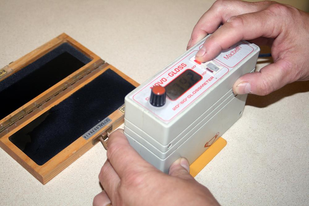 Gloss Meter Test