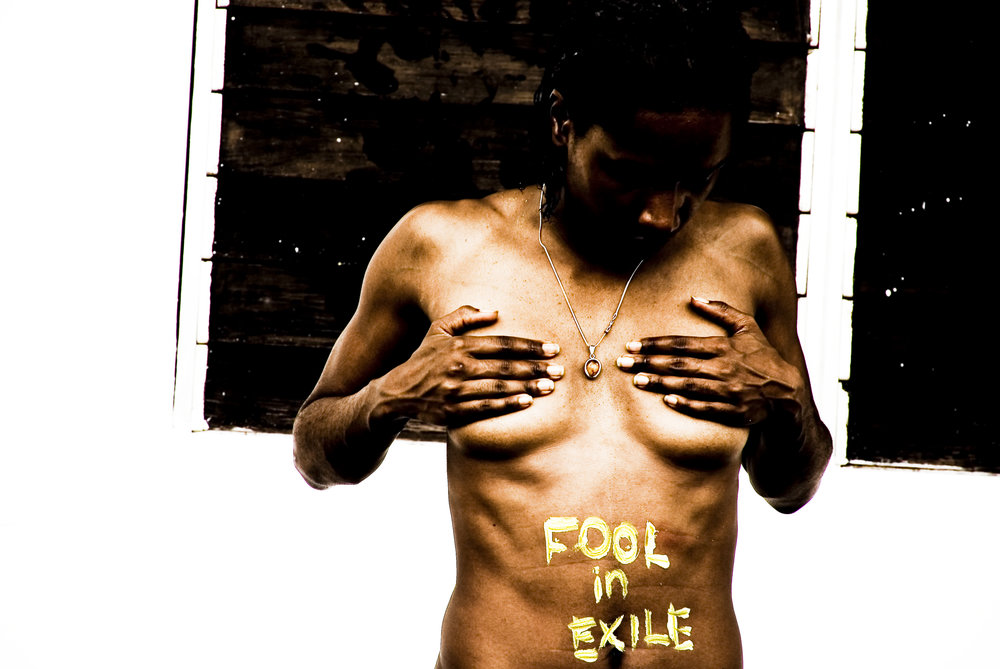 BRANDED...therefore I AM    a fool in exile (defiance)