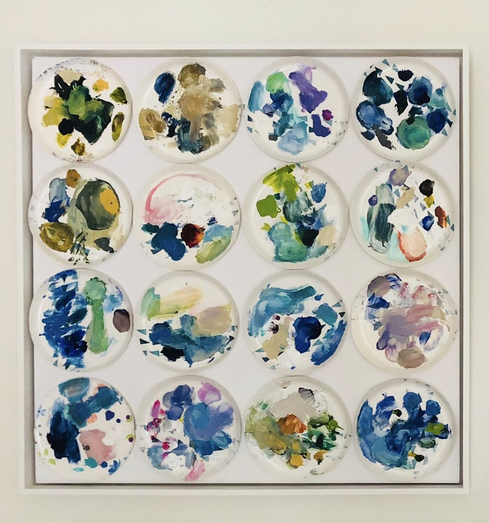 Palette Plates Blues