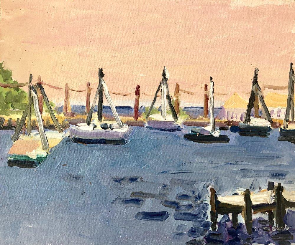 Gibson Island Sailboats