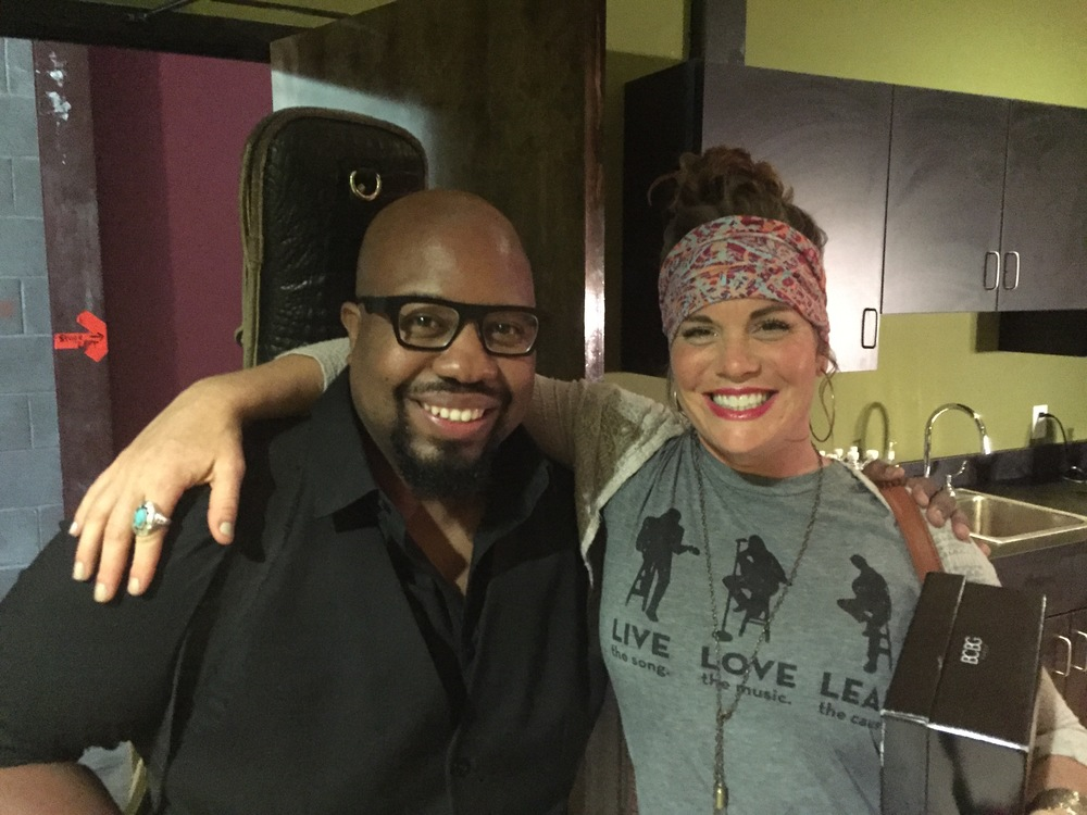 Backstage with Bonnie Bishop at the Americana Roots Festival