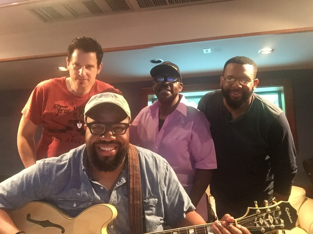 In the Studio with Producer Jesse Boyce and some of the Chank