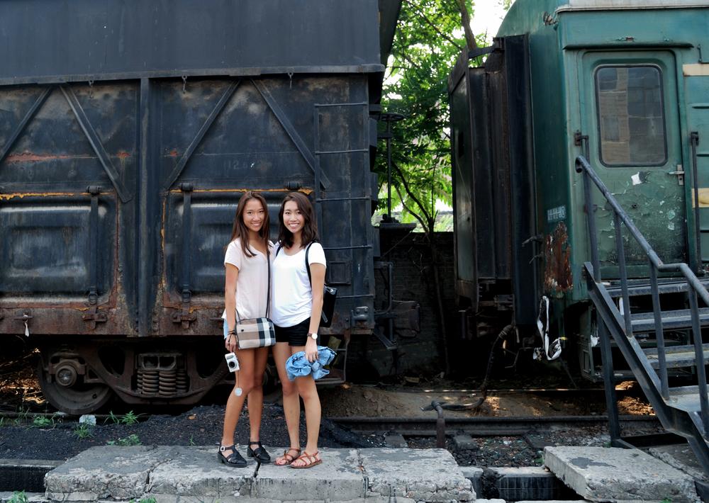 Sisters in Beijing <3