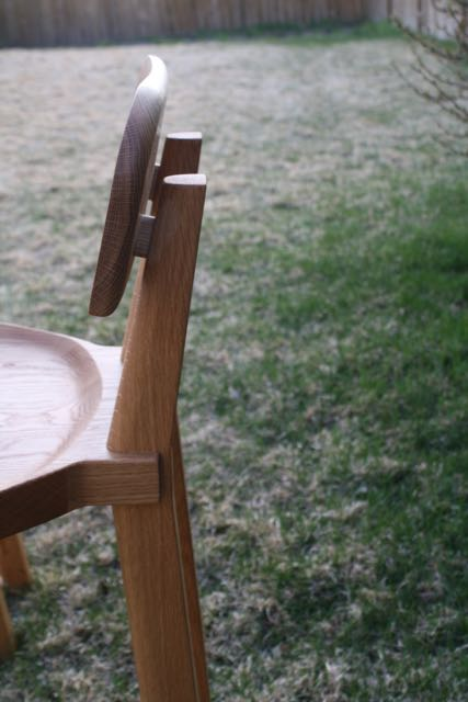 Low back stool by Kenton Jeske