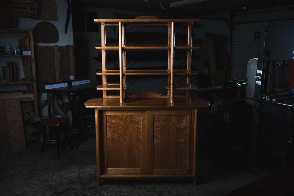 Buffet w/ Open Hutch by Kenton Jeske