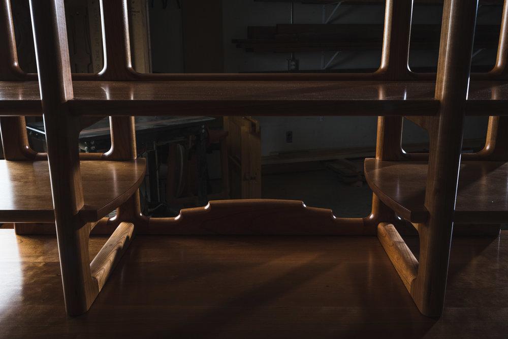 Crest rail detail