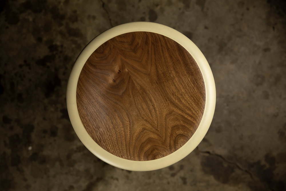 Button stool by Kenton Jeske