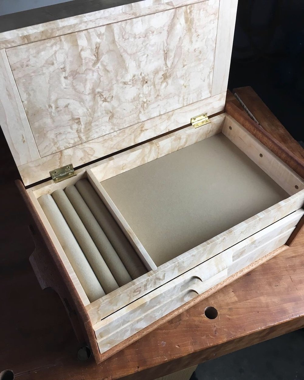 Jewelry Box by Kenton Jeske
