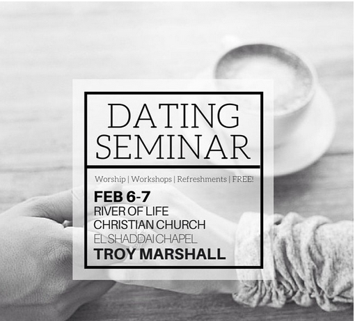 Dating Seminar Workshop Troy Marshall