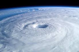 Hurricane Isaac nears Haiti. ©NASA