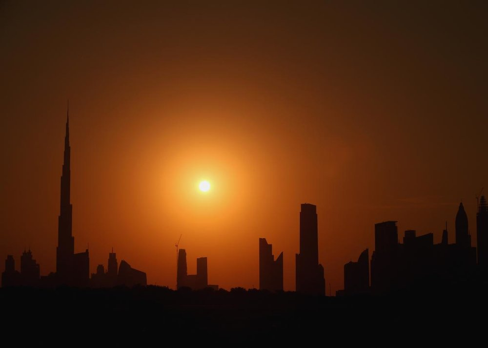 Haet wave in Dubai, UAE  ©Getty Images