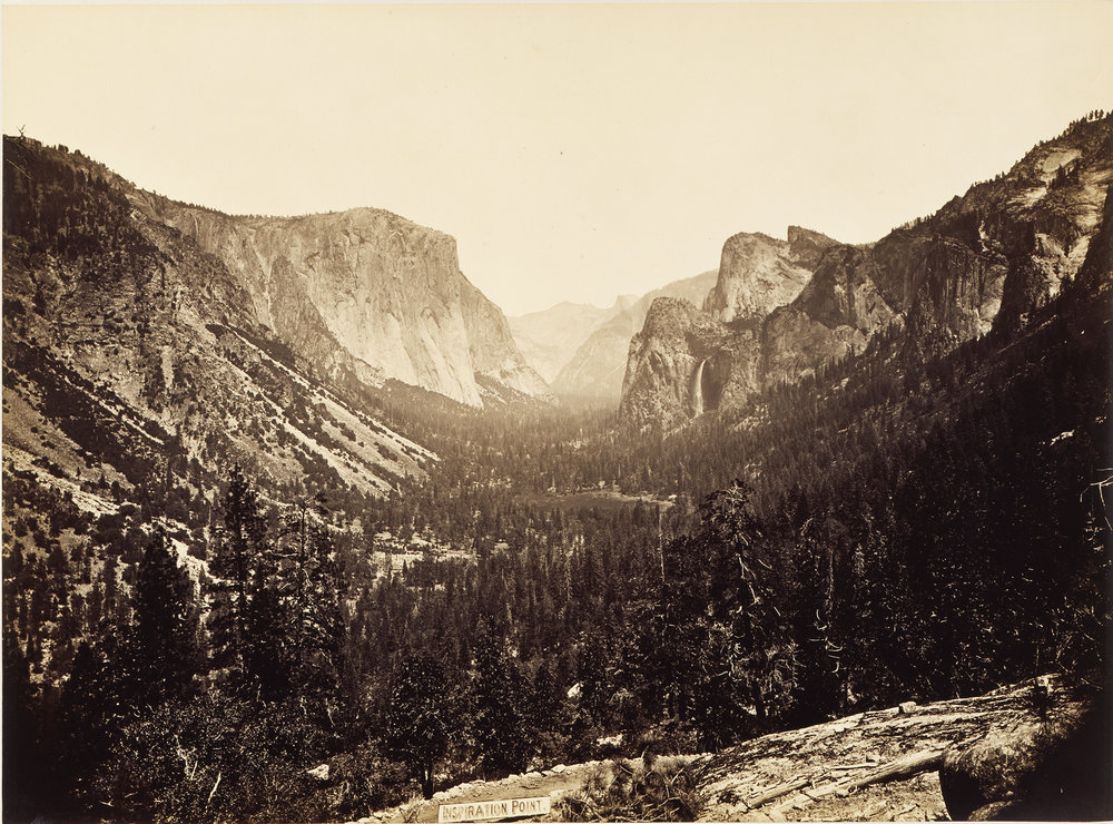 "Carleton Watkins, ""View from Inspiration Point,"" 1879, ©Princeton University Art Museum"