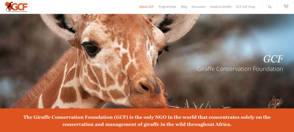 ©Giraffe Conservation Foundation/GCF