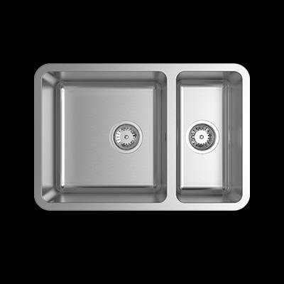 abey lago lg180u undermount one one third stainless steel - Abey Kitchen Sinks