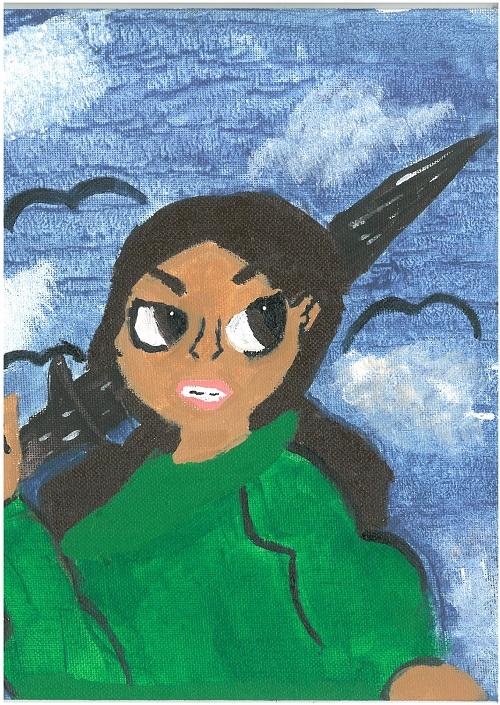 Wooloowin_Madeline painting.jpg