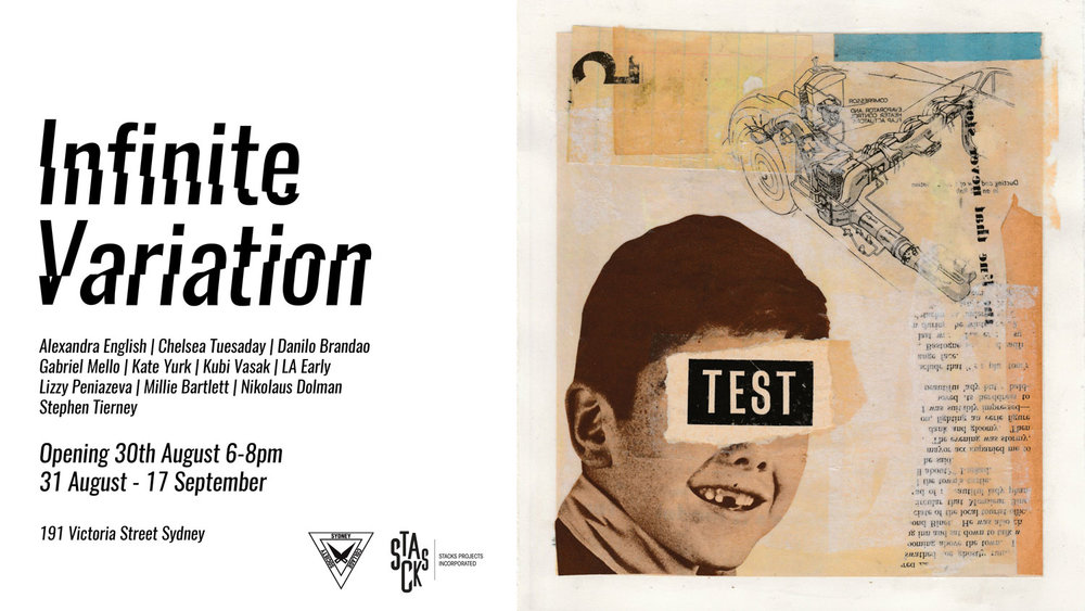 Infinite Variation group collage show