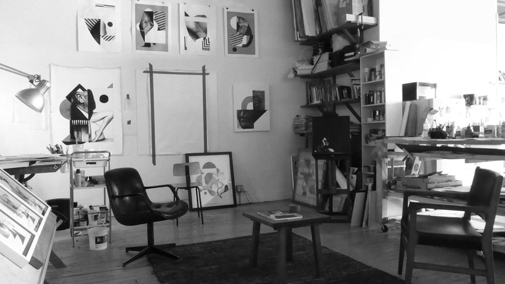 Artist workspace