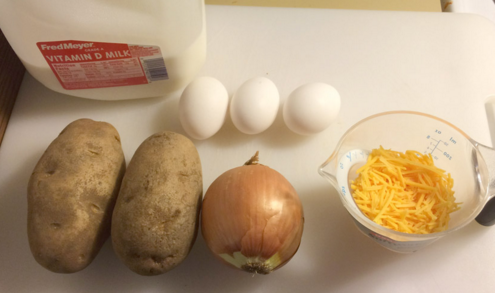 How many things can you make with eggs, potatoes, onions, cheese and milk? More than you want.