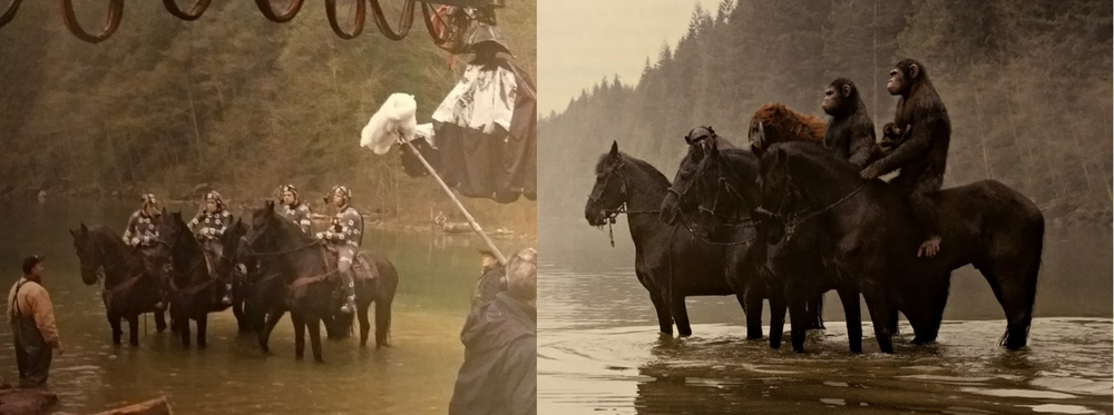 """On location"" performance capture is not easy. But the question in character performance capture in Dawn of the Planet of the Apes is ""Do you want it done easy? Or done right?"""
