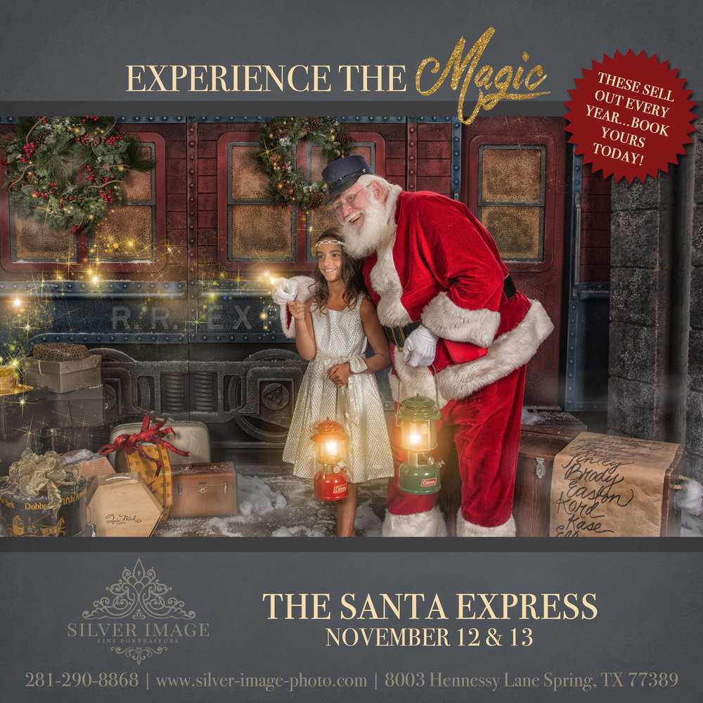 santa polar express houston, tx