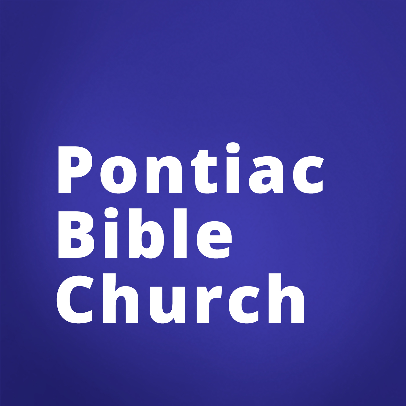 Pontiac Bible Church