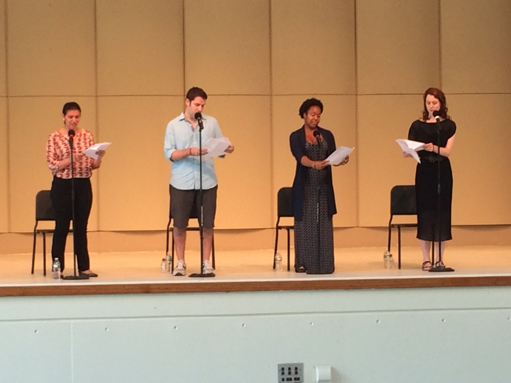 Performing in plays written by students at Usdan Summer Camp
