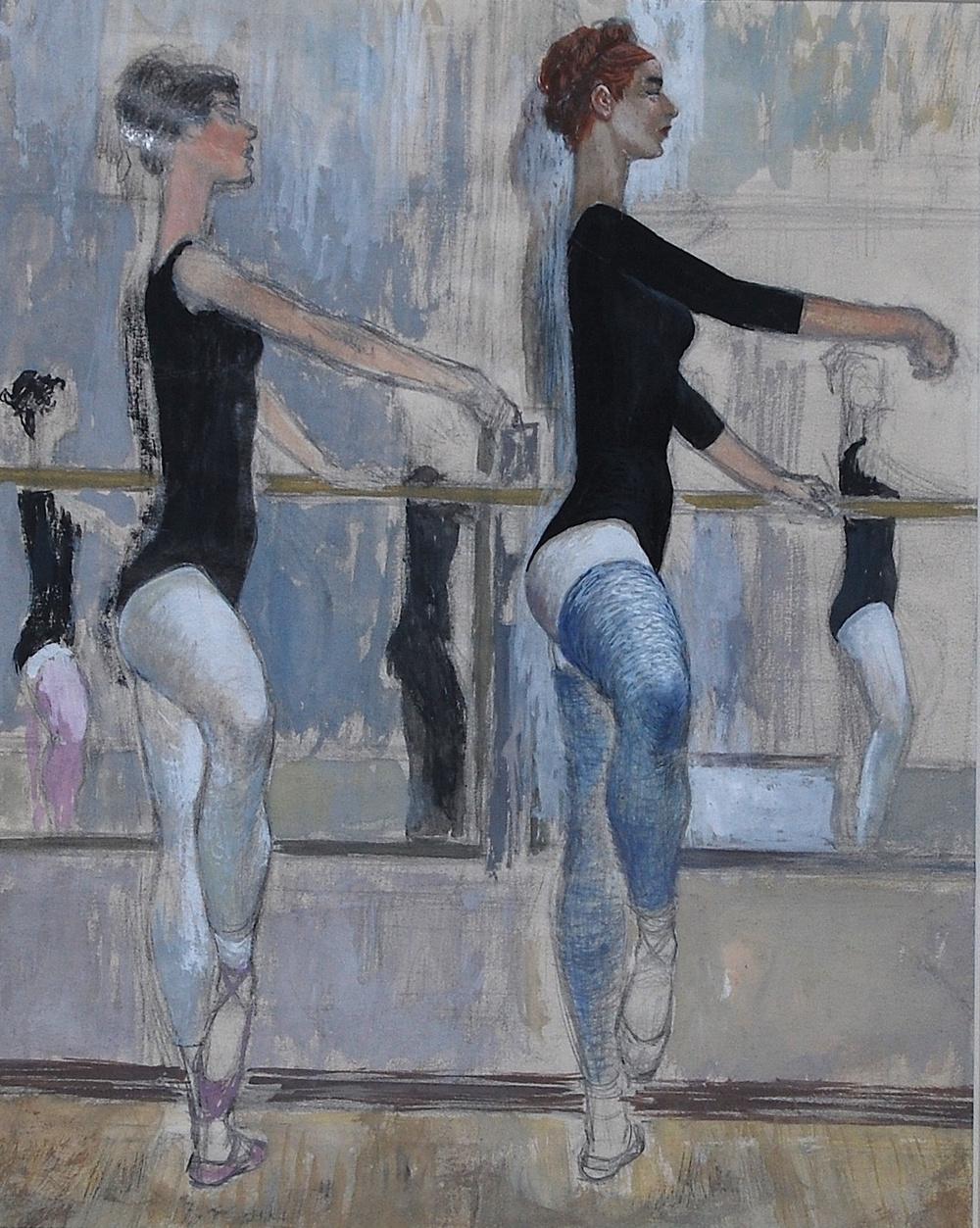"""""""Ballet Dancers"""" c. 1974*"""