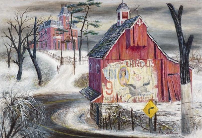 """""""Circus Poster"""" 1954"""