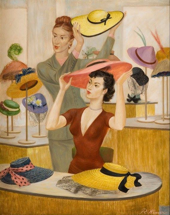 """""""Spring Hats"""" 1949*"""