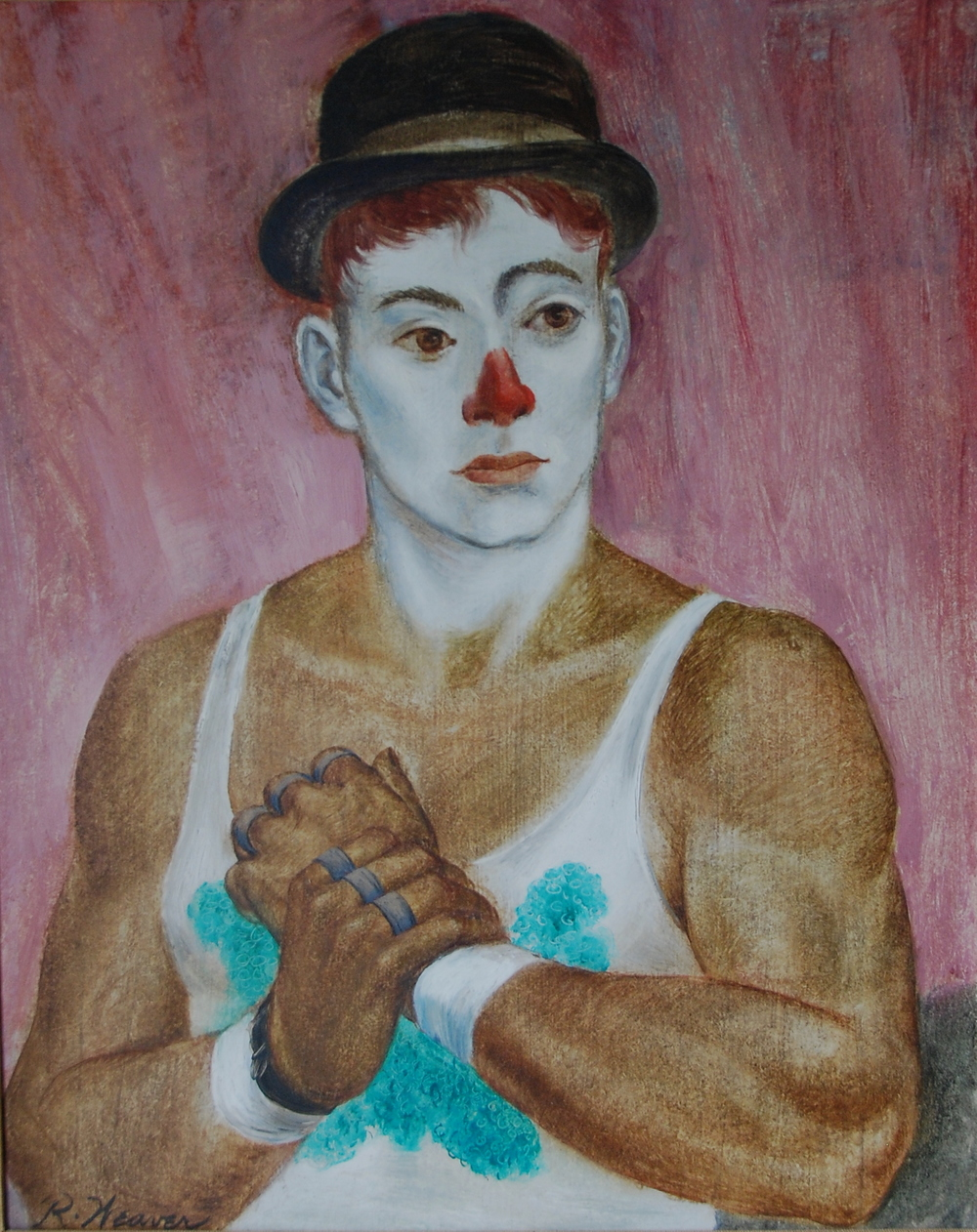 """Johnny Cadarro In Derby"" c. 1950"