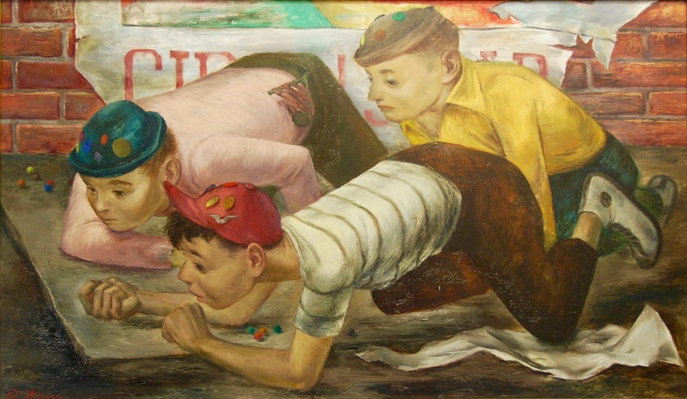 """The Marble Players"" c. 1949"