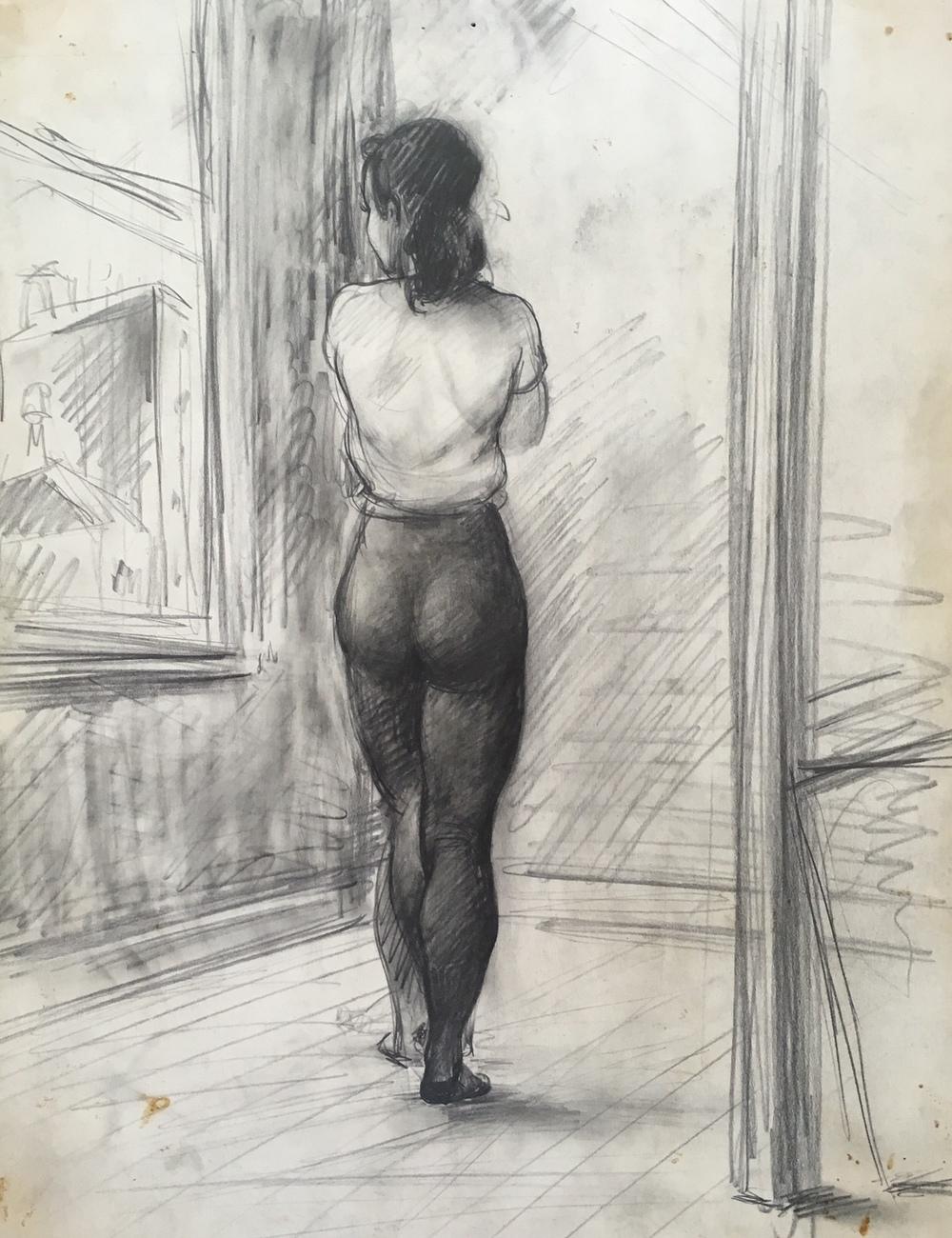 """Study of a Dancer"" c. 1938*"