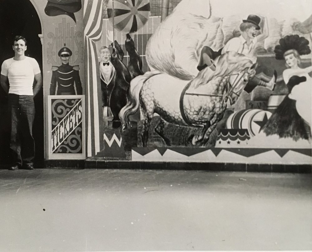 REW the muralist c. 1946