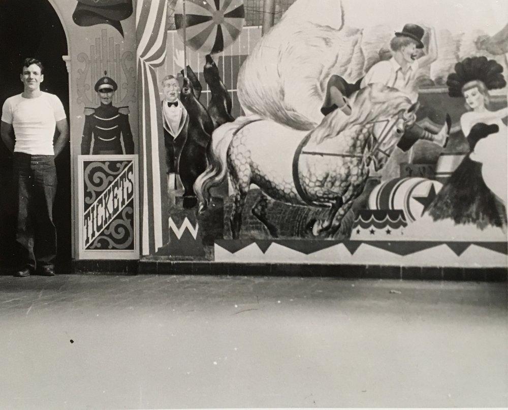 REW the muralist c. 1946