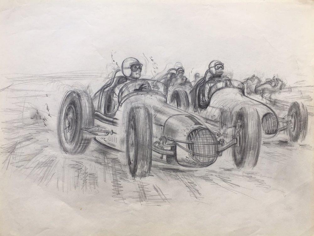 """""""Sprint Cars"""" c. 1963"""