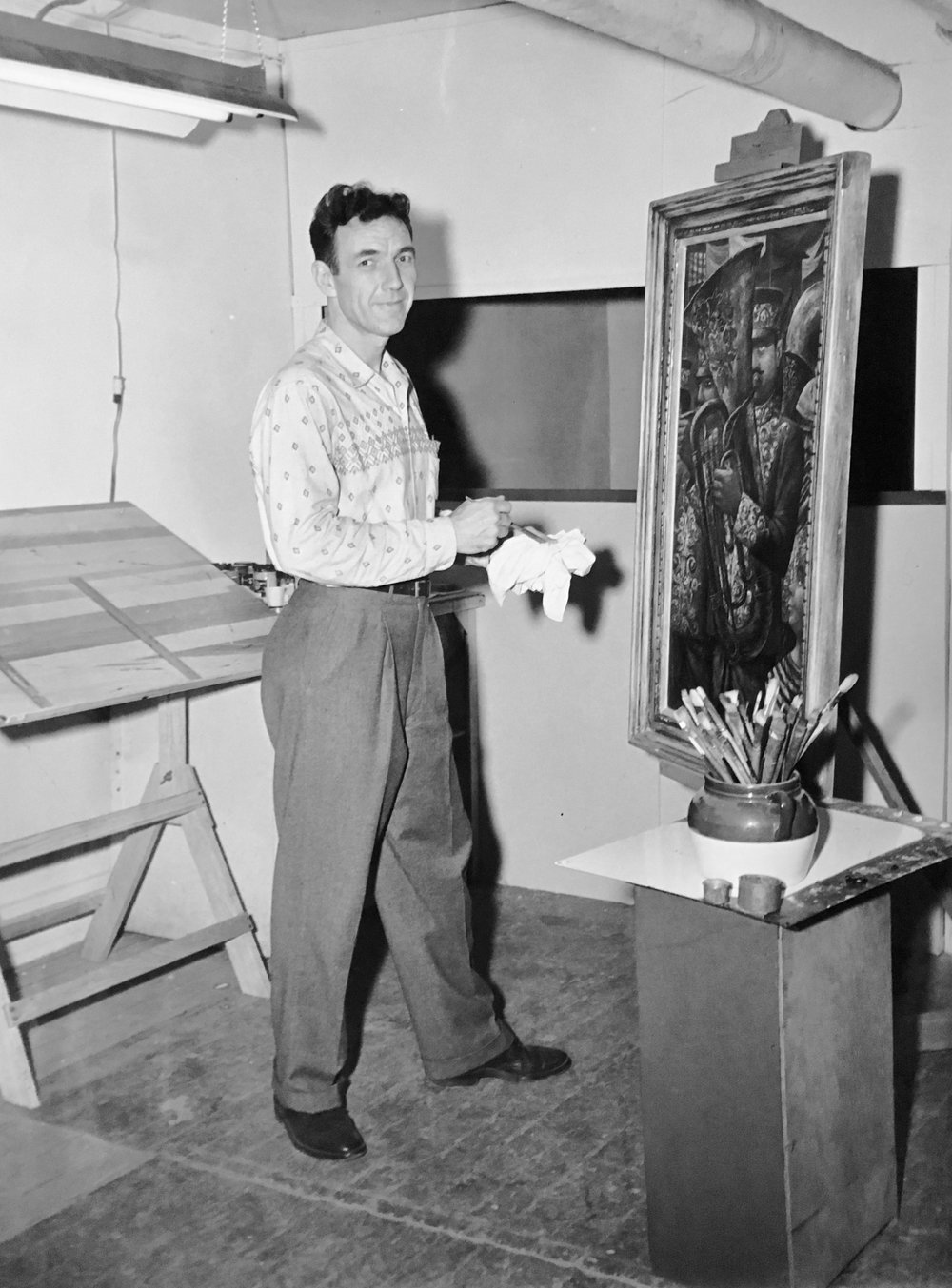 Robert Edward Weaver c. 1952
