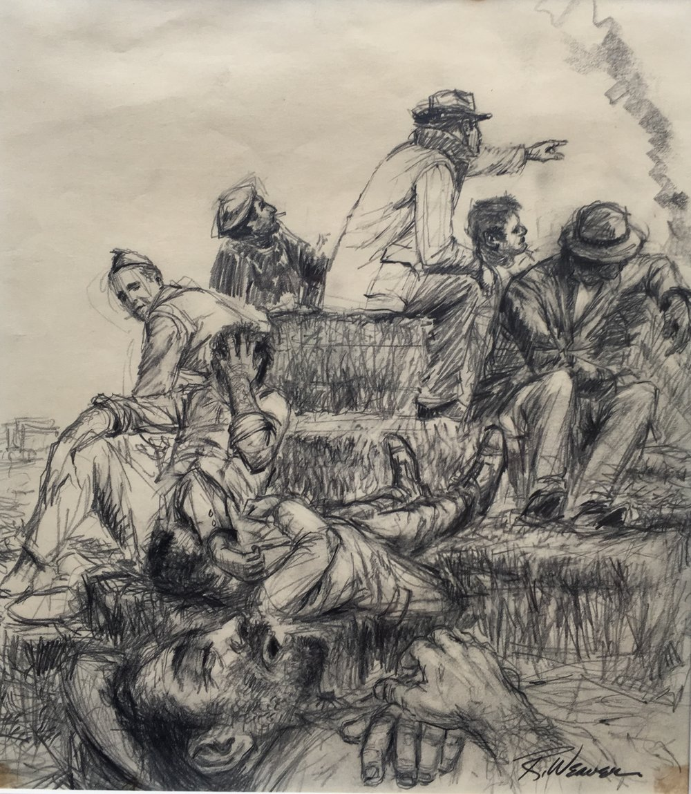 """""""The Workers"""" c. 1960 *"""