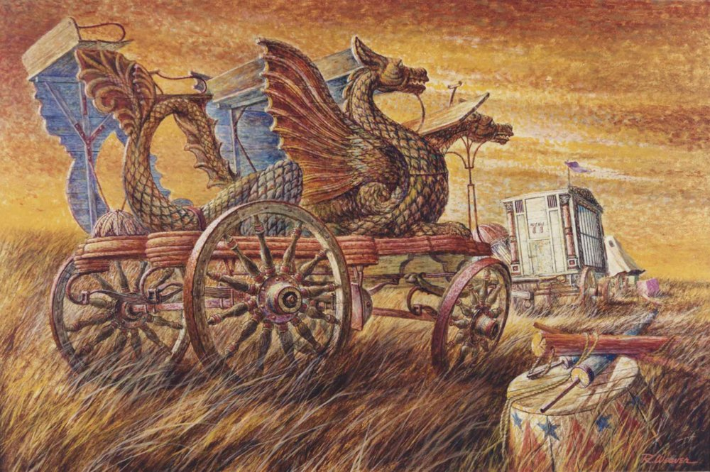 """Dragon Wagon"" c. 1980"