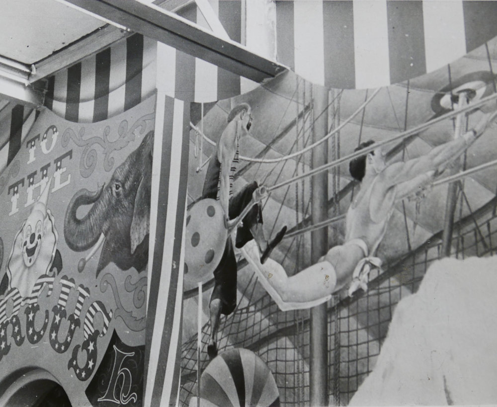 - Detail image of the mural.