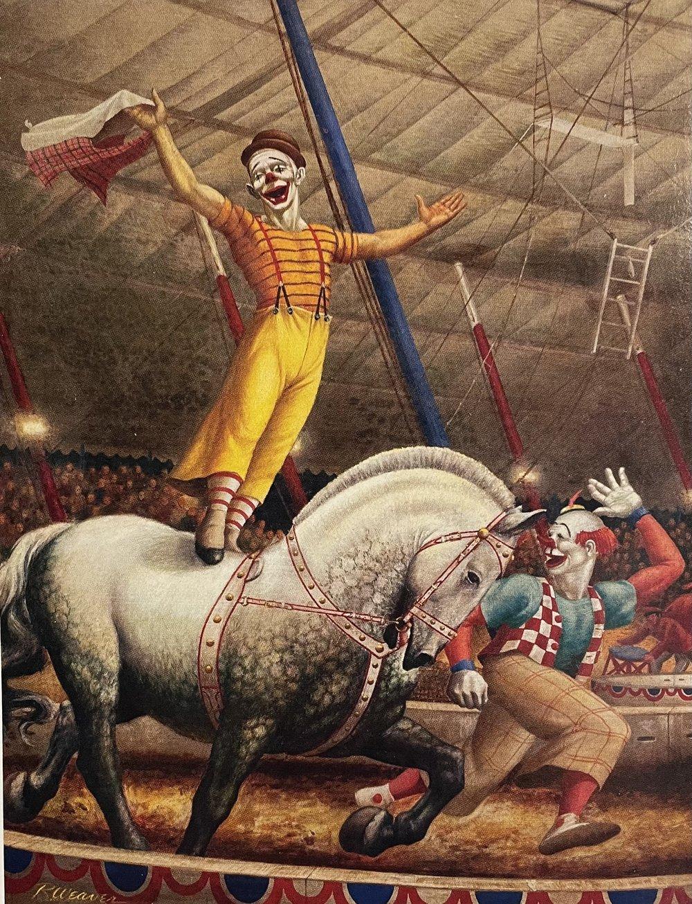 """Riding Clowns"" 1937"