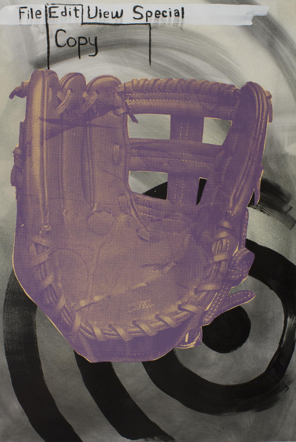 An Exploding Baseball Glove, First Version (2014)