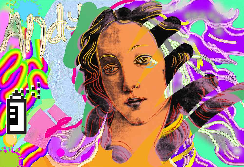 Birth of Venus [After Andy Warhol] (2015)