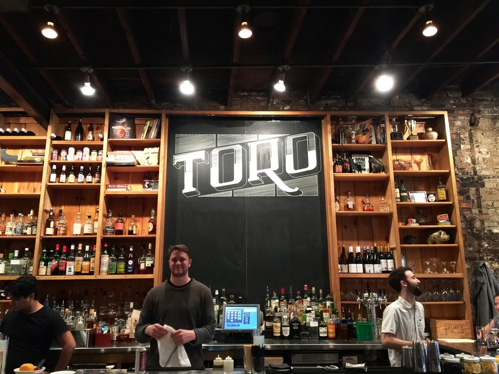 Toro, Boston, November 2015