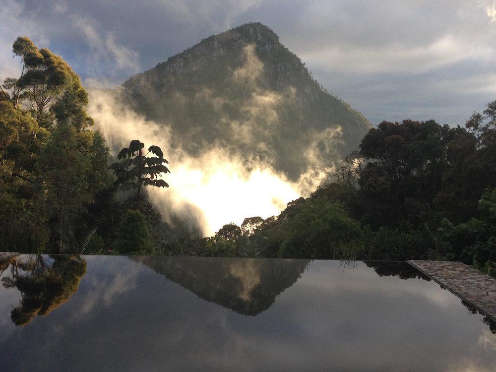 Reserva Natural El Chulajua, lugar de residencia del Cuenco de Cera