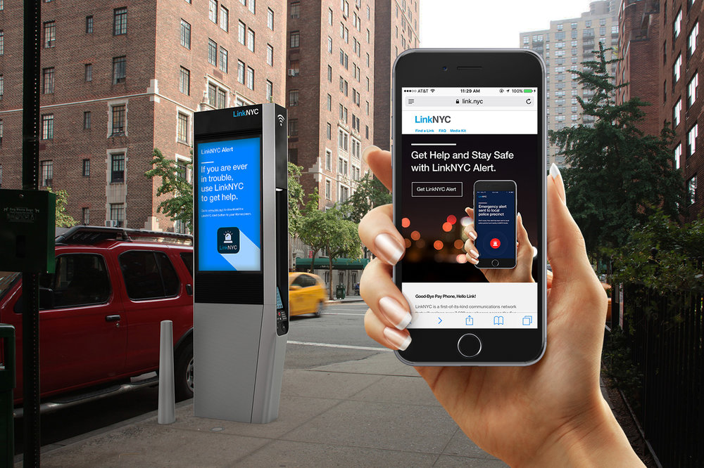 LinkNYC Safe City