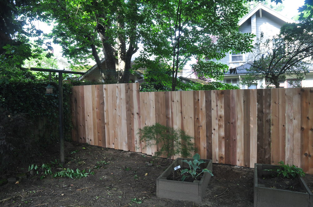 New fence for these Portland folks!