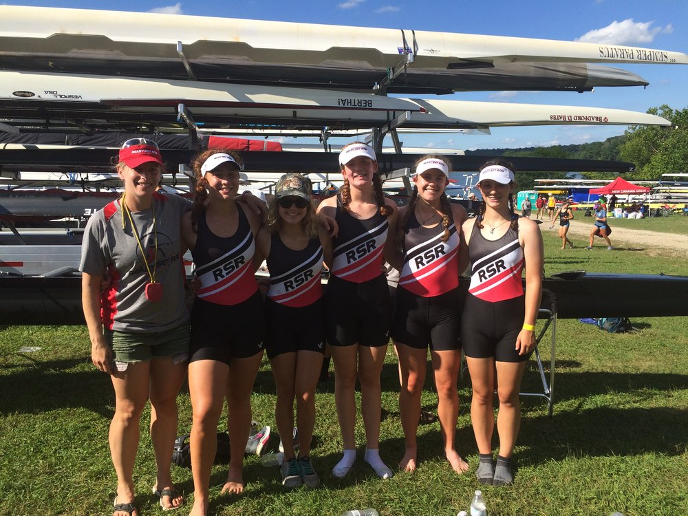 RSR Development Team 2016 U19 4+ at Club Nationals