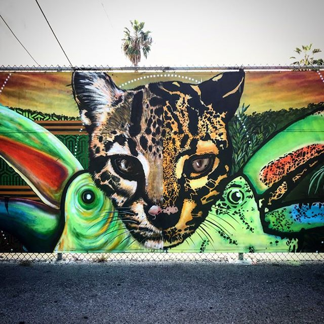 An oldie but a goodie ~ Animal instincts ❣️ @clintonbopp @crispstreetart  #art #color #venicebeach #clintonbopp #crispstreetart #themusecrypt