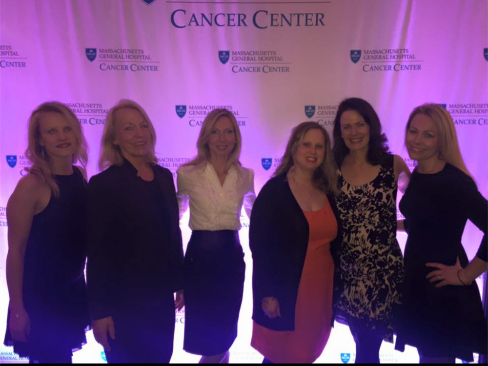 The Sally Jane team and friends at the Couture for Cancer Care Fashion Show.